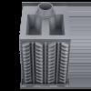 Чугунная банная печь Гефест ПБ-04 до 15 м3