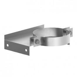 Крепление для труб стеновое (Тип 1), нержавейка 1мм, D200
