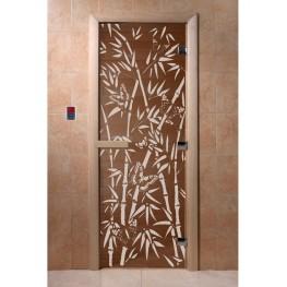 Дверь DoorWood 680х1890 «Бамбук и бабочки»