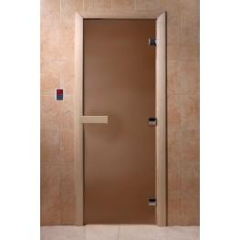 Дверь DoorWood 680х1890 «Бронза матовая»