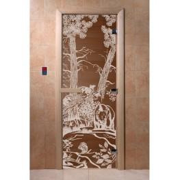 Дверь DoorWood 680х1890 «Мишки»
