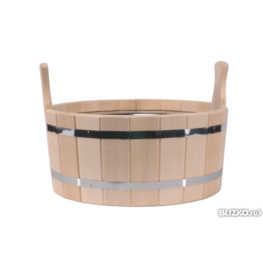 Шайка для бани, 17л (кедр)