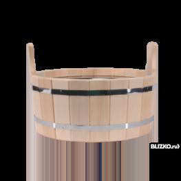 Шайка для бани, 22л (кедр)