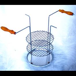 Тарелка-решетка трехъярусная